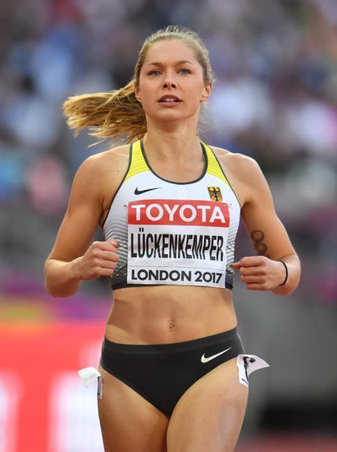 Gina Luckenkemper - 100 m semi-final at 2017 IAAF World Championships in London