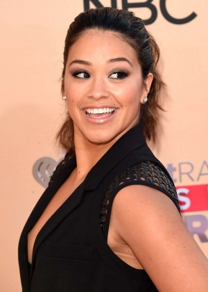 Gina Rodriguez - 2015 iHeartRadio Music Awards in LA