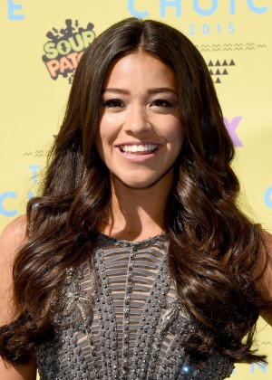Gina Rodriguez - 2015 Teen Choice Awards in LA