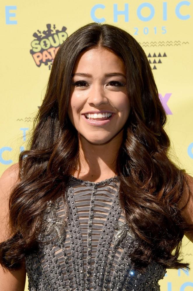 Gina Rodriguez – 2015 Teen Choice Awards in LA
