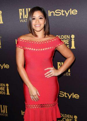Gina Rodriguez - 2016 Golden Globe Awards Season in Los Angeles