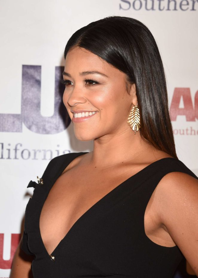 Gina Rodriguez - 2017 ACLU SoCal's Annual Bill of Rights Dinner in LA