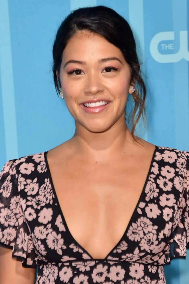 Gina Rodriguez - 2017 CW Upfront Presentation in New York