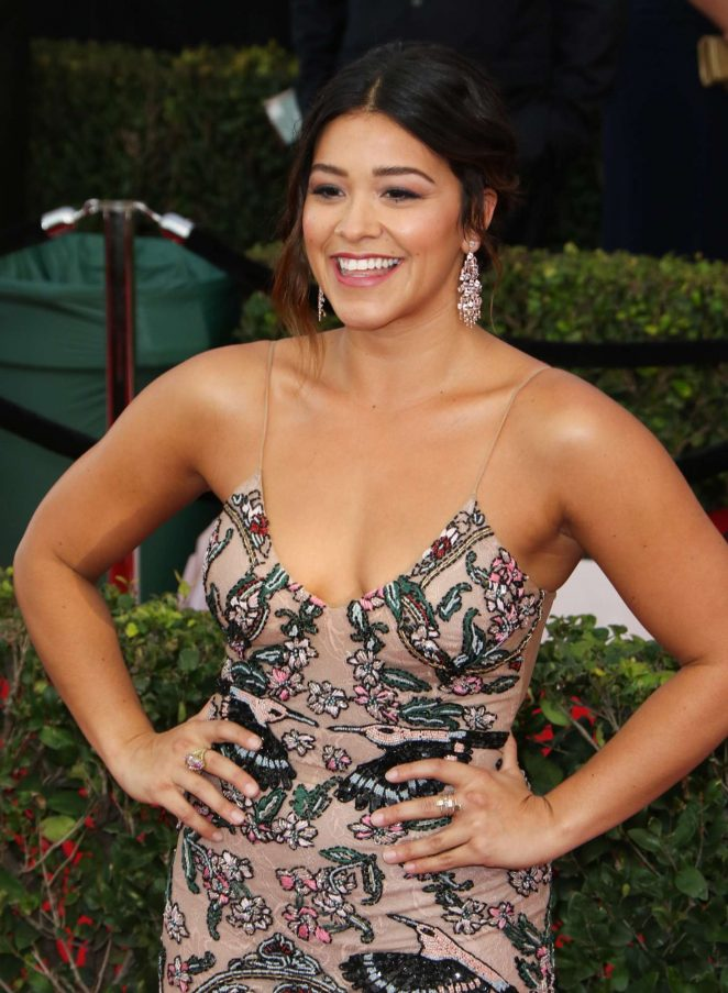 Gina Rodriguez – 2017 Screen Actors Guild Awards in Los Angeles