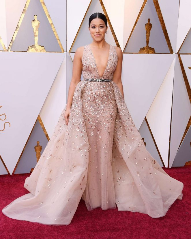Gina Rodriguez - 2018 Academy Awards in Los Angeles