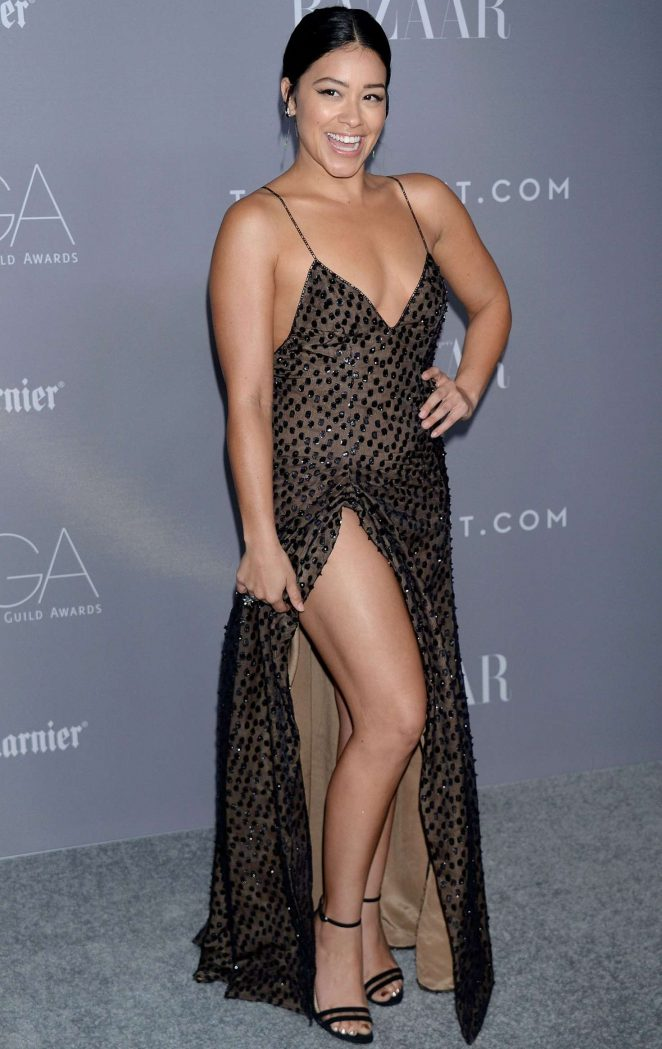 Gina Rodriguez - 2018 Costume Designers Guild Awards in Beverly Hills