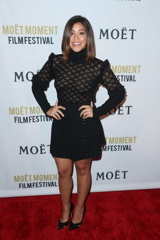 Gina Rodriguez: 2nd Annual Moet Moment Film Festival -02
