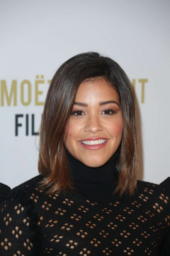 Gina Rodriguez: 2nd Annual Moet Moment Film Festival -04