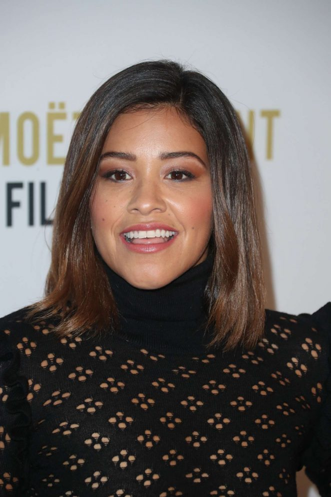 Gina Rodriguez: 2nd Annual Moet Moment Film Festival -05
