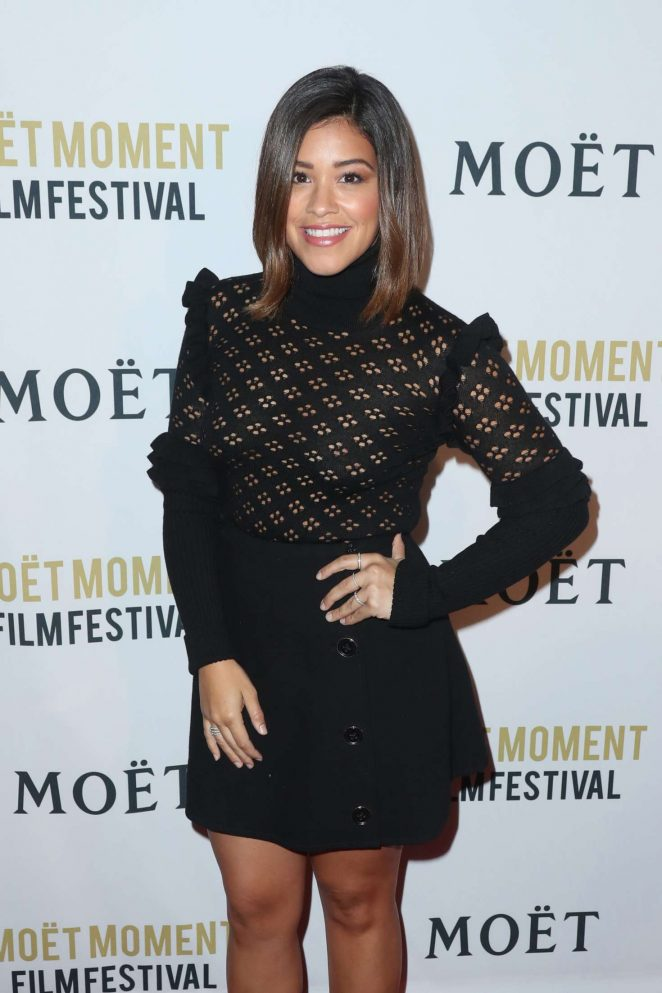 Gina Rodriguez – 2nd Annual Moet Moment Film Festival in Los Angeles