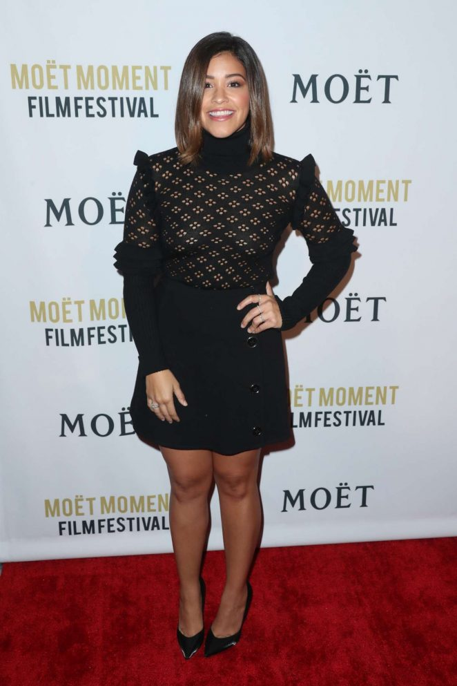 Gina Rodriguez: 2nd Annual Moet Moment Film Festival -17