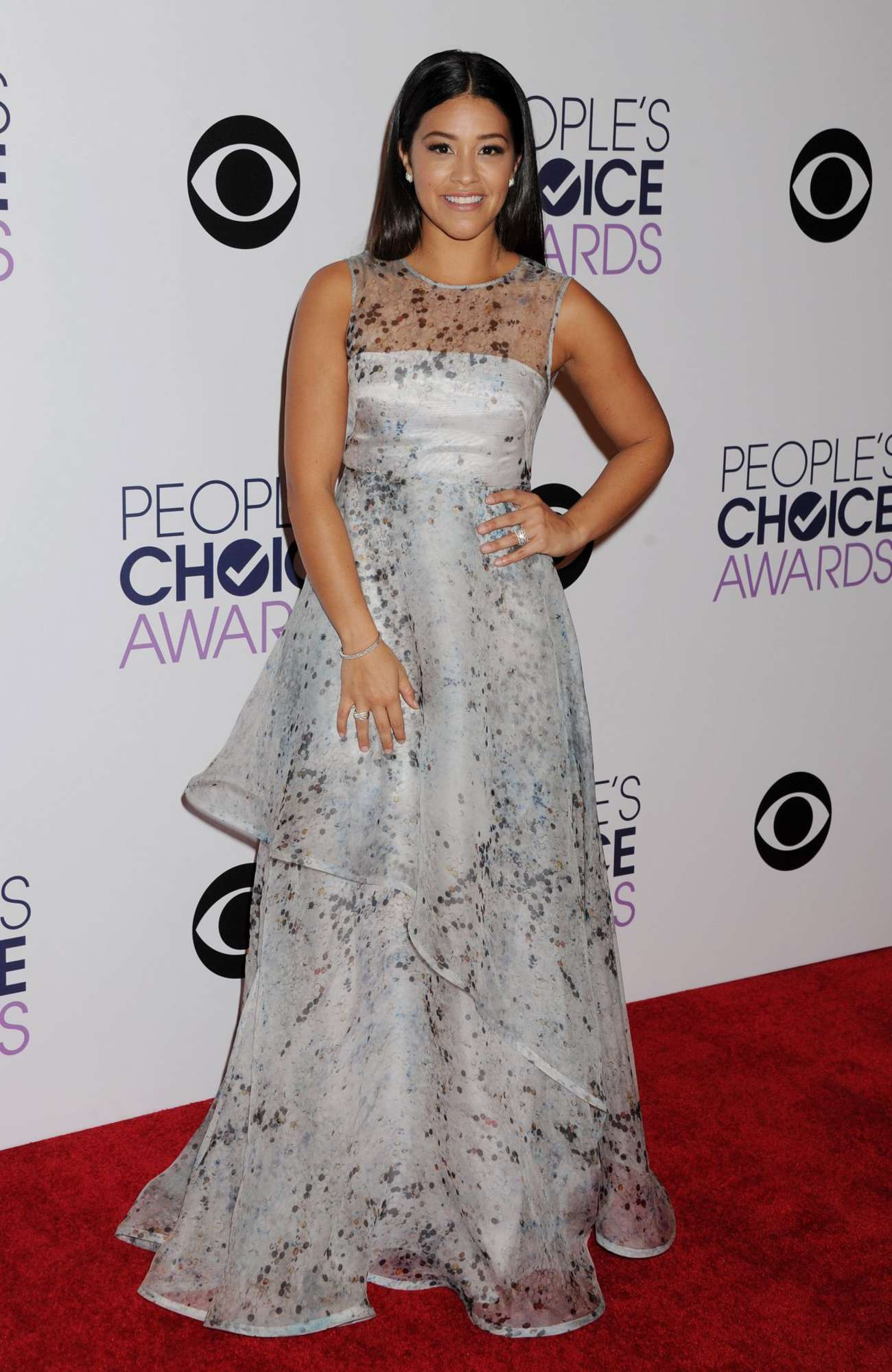 Gina Rodriguez - 41st Annual People's Choice Awards in LA