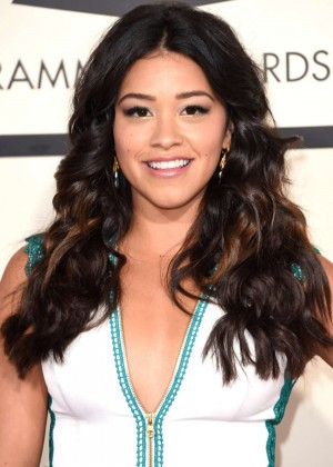 Gina Rodriguez - GRAMMY Awards 2015 in Los Angeles