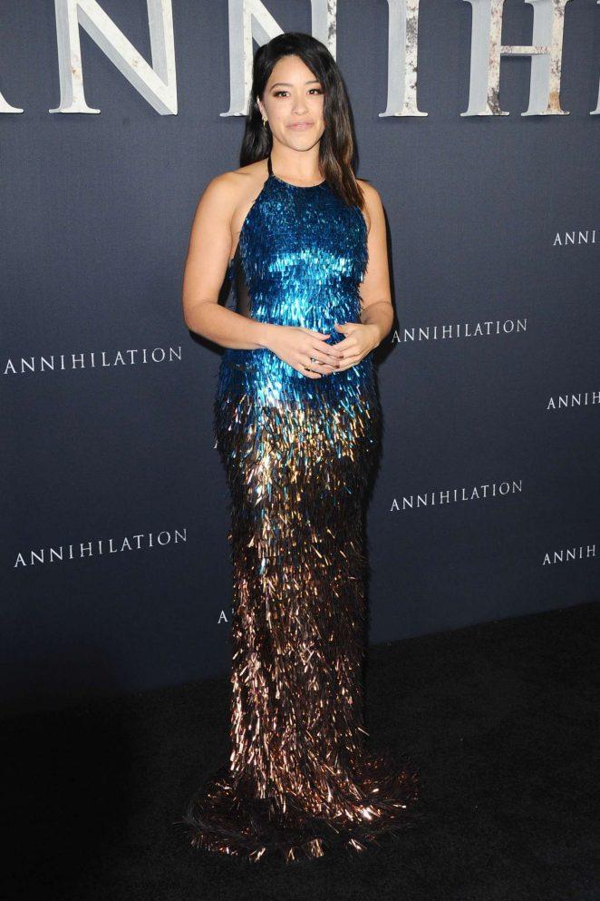 Gina Rodriguez - 'Annihilation' Premiere in Los Angeles