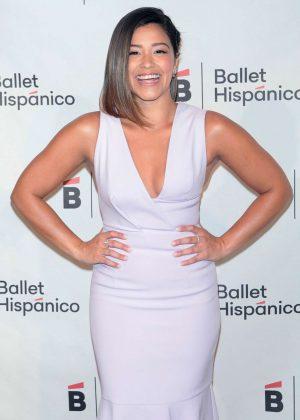 Gina Rodriguez - Ballet Hispanico Carnaval Gala 2017 in NY