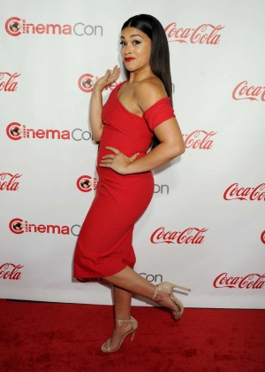 Gina Rodriguez - Big Screen Achievement Awards at CinemaCon 2016 in Las Vegas