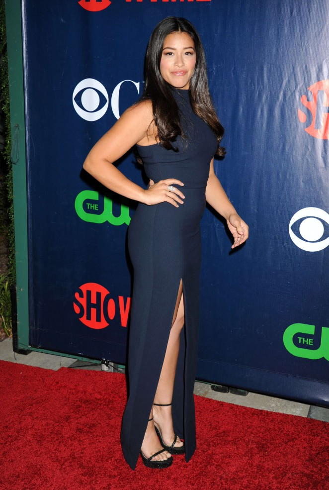Gina Rodriguez – CBS, CW and Showtime TCA Summer Press Tour Party in LA
