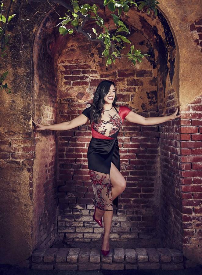 Gina Rodriguez - Cosmopolitan For Latinas Magazine (December 2015)
