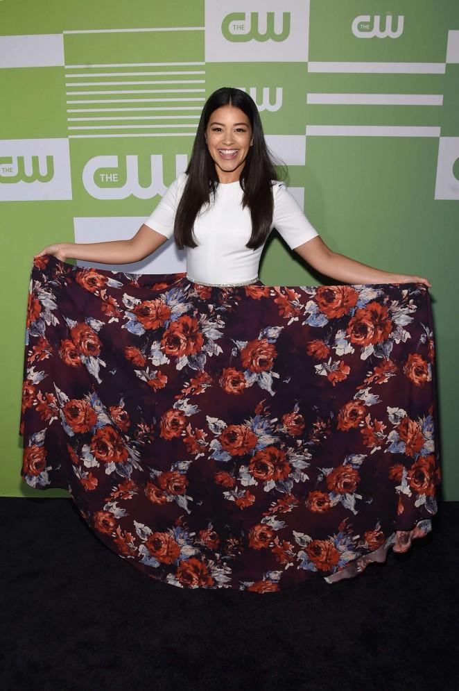 Gina Rodriguez: CW Networks 2015 Upfront -01