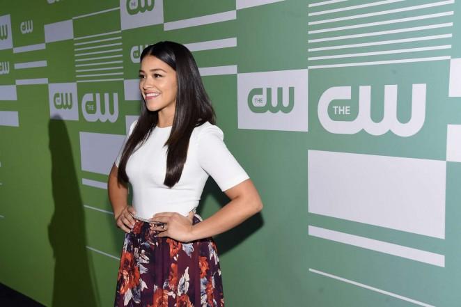 Gina Rodriguez: CW Networks 2015 Upfront -04