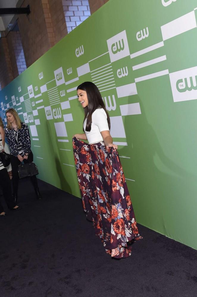 Gina Rodriguez: CW Networks 2015 Upfront -09