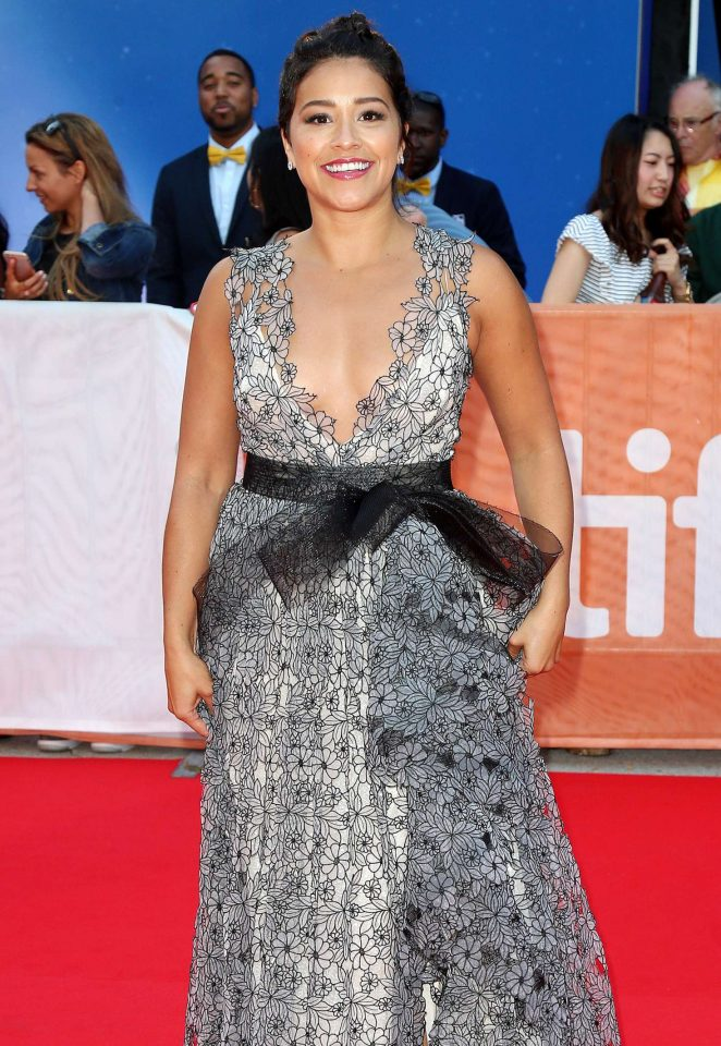 Gina Rodriguez – 'Deepwater Horizon' Premiere at 2016 Toronto International Film Festival