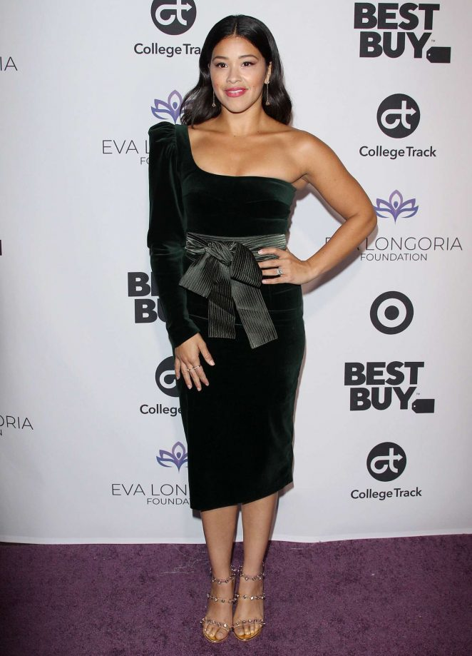 Gina Rodriguez – Eva Longoria Foundation Dinner in Los Angeles