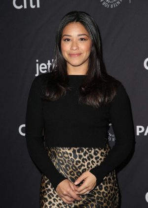 Gina Rodriguez - 'Jane The Virgin' and 'Crazy Ex-Girlfriend' Presentation at PaleyFest in LA