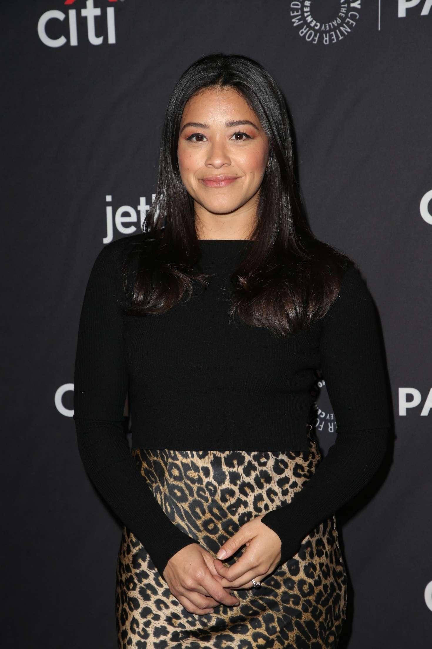 Gina Rodriguez - 'Jane The Virgin' and 'Crazy Ex-Girlfriend' Presentation at PaleyFest in LA