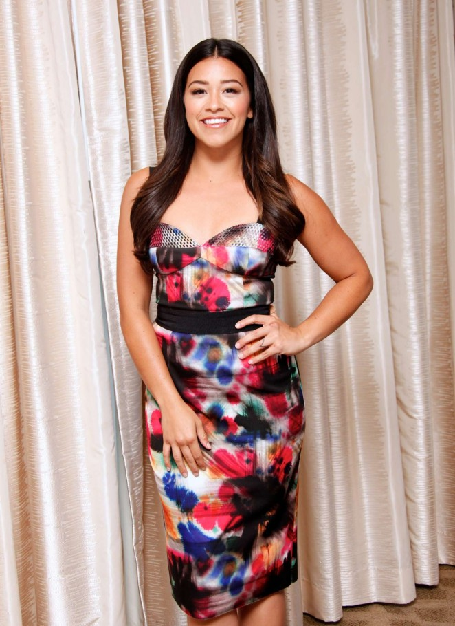 Gina Rodriguez - 'Jane the Virgin' Press Conference in Beverly Hills