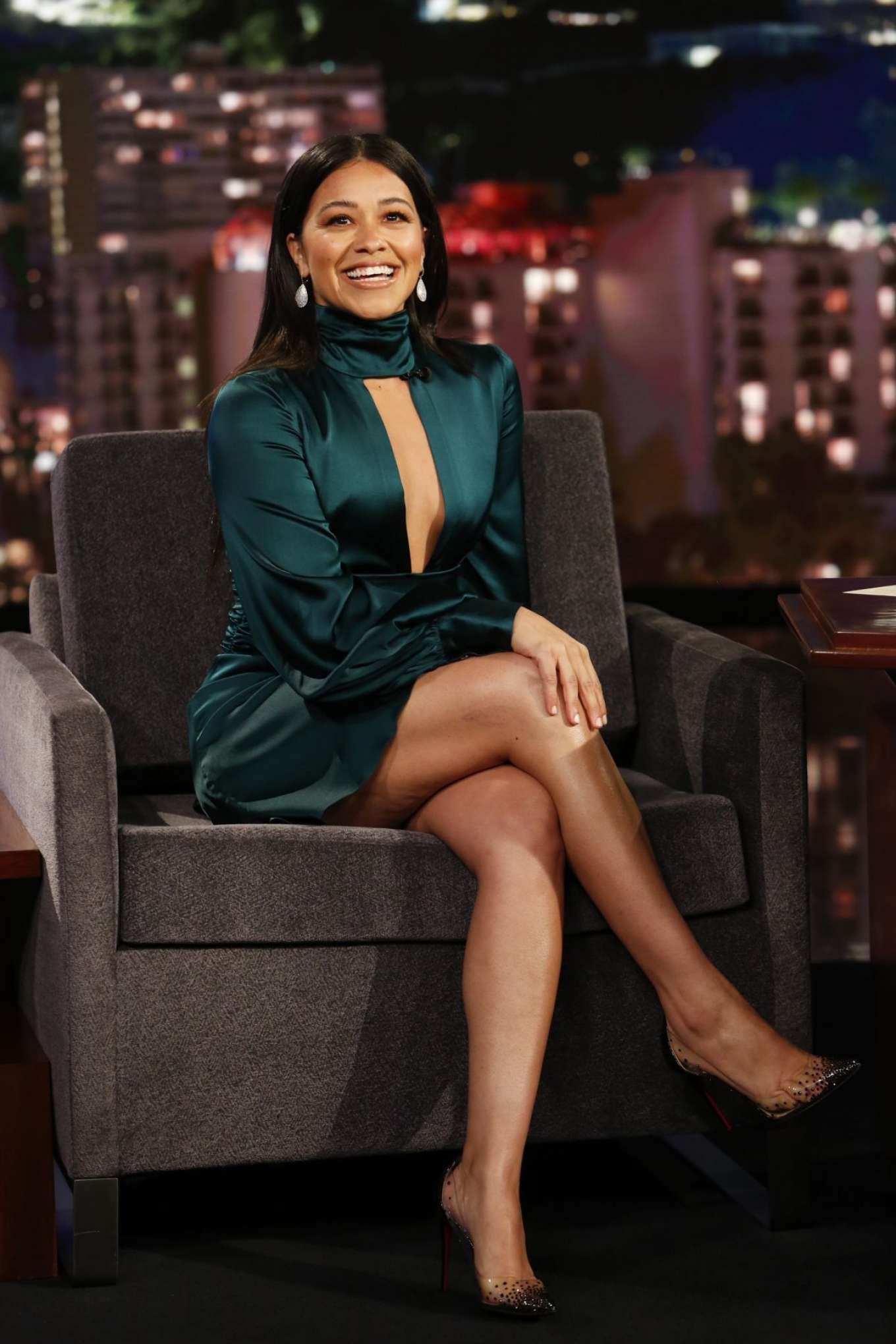 Gina Rodriguez 2019 : Gina Rodriguez: Jimmy Kimmel Live! in Los Angeles-02