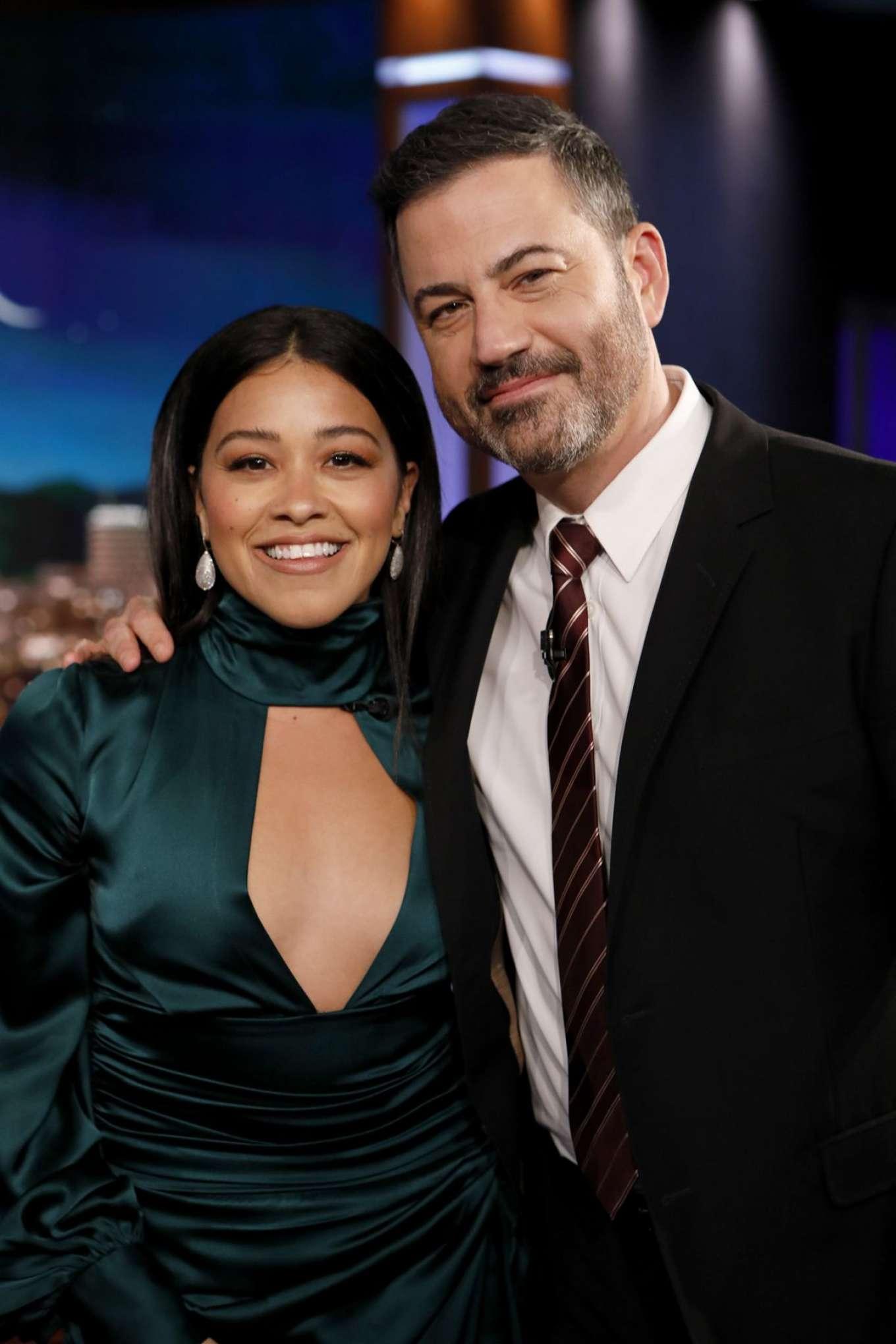 Gina Rodriguez 2019 : Gina Rodriguez: Jimmy Kimmel Live! in Los Angeles-04