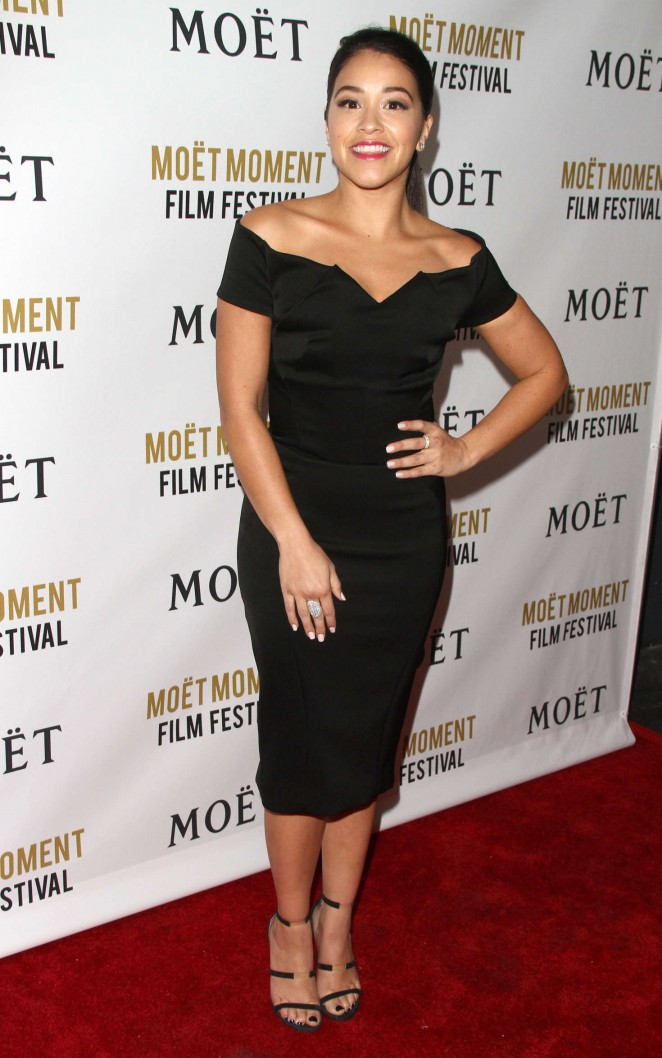 Gina Rodriguez - Moet And Chandon Celebrates 25 Years At The Golden Globes in West Hollywood