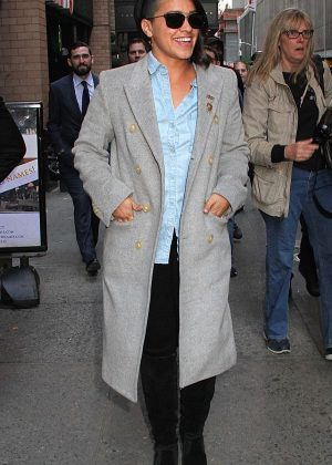 Gina Rodriguez out in New York
