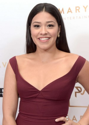 Gina Rodriguez - Primary Wave 10th Annual Pre-Grammy Party in LA