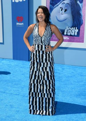 Gina Rodriguez - 'Smallfoot' Premiere in Los Angeles