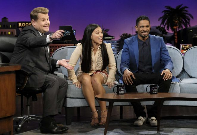 Gina Rodriguez - 'The Late Late Show with James Corden' in NY