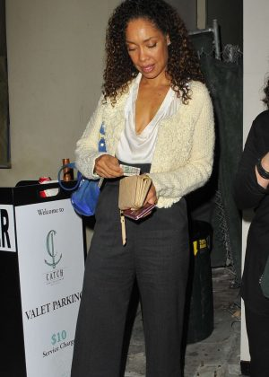 Gina Torres at Catch LA in West Hollywood