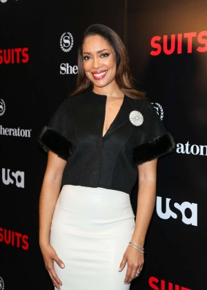 Gina Torres 'Suits' Season 5 Premiere in Los Angeles