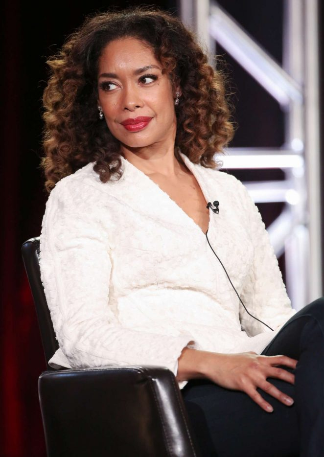 Gina Torres - 'The Catch' Panel at TCA Winter Press Tour 2017 in Pasadena