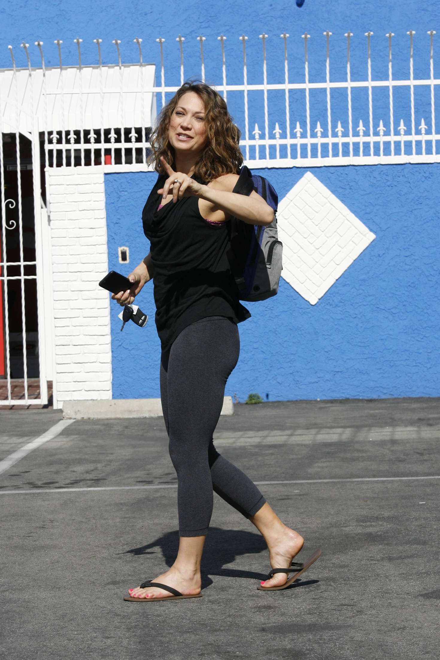 Ginger Zee Hot Pics with regard to ginger zee at dwts dance practice in hollywood