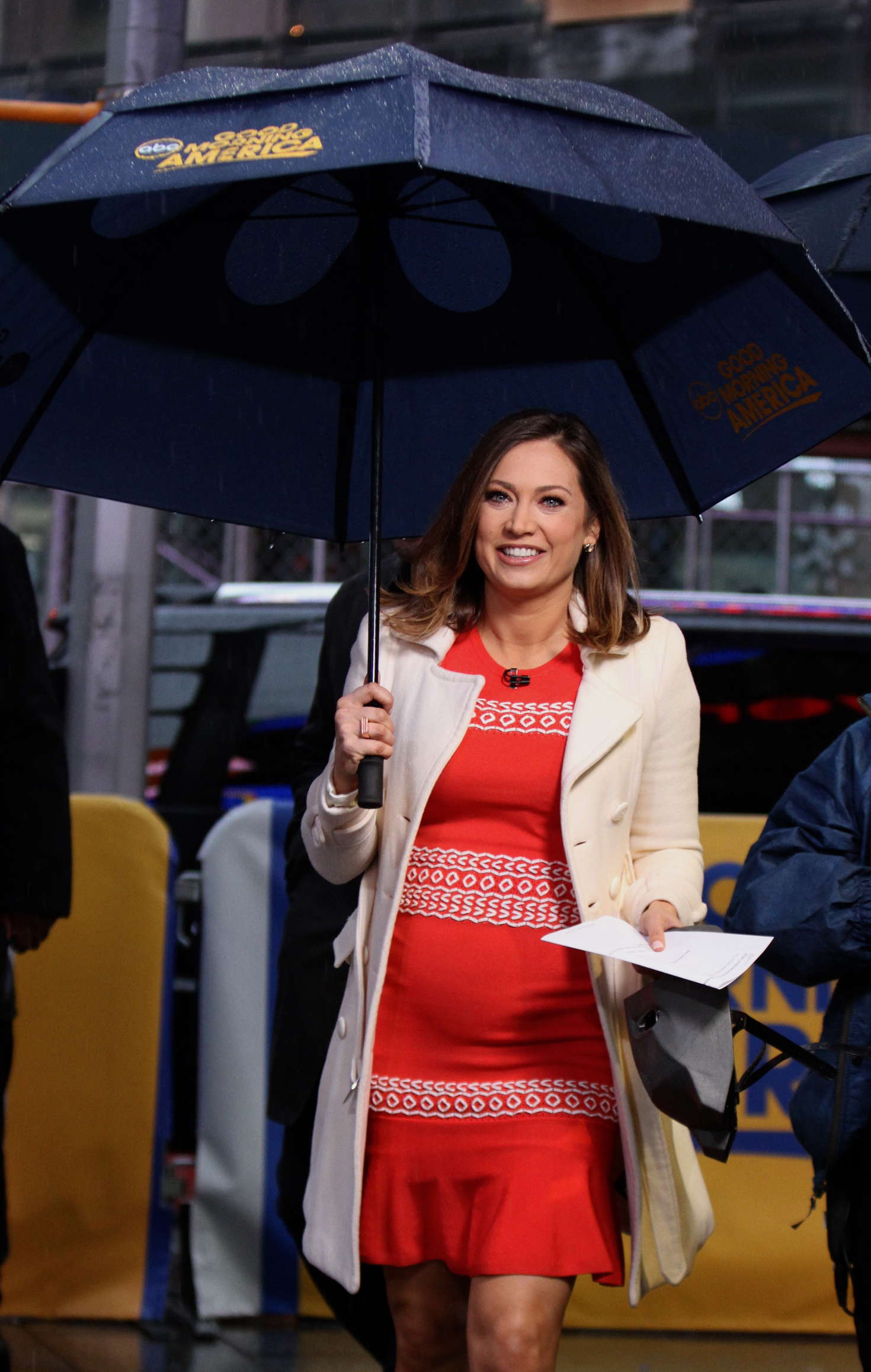 Good Morning America Nyc : Ginger zee at the good morning america show gotceleb