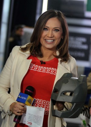Ginger Zee at the 'Good Morning America' Show in NYC