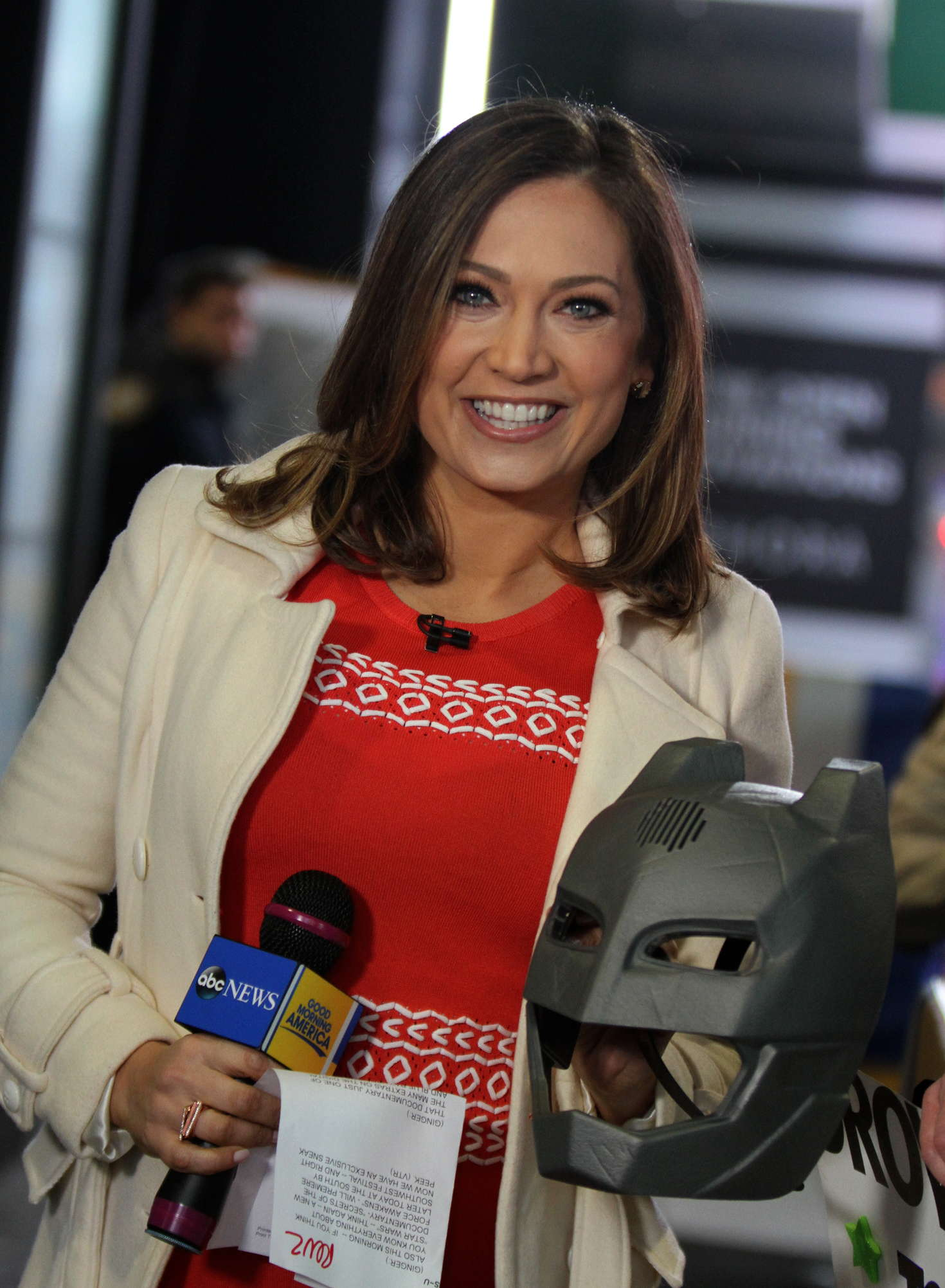 Good Morning America Ginger : Ginger zee at the good morning america show in nyc