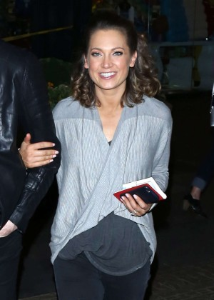 Ginger Zee - Heads to Mixology101 after DWTS Competition in LA