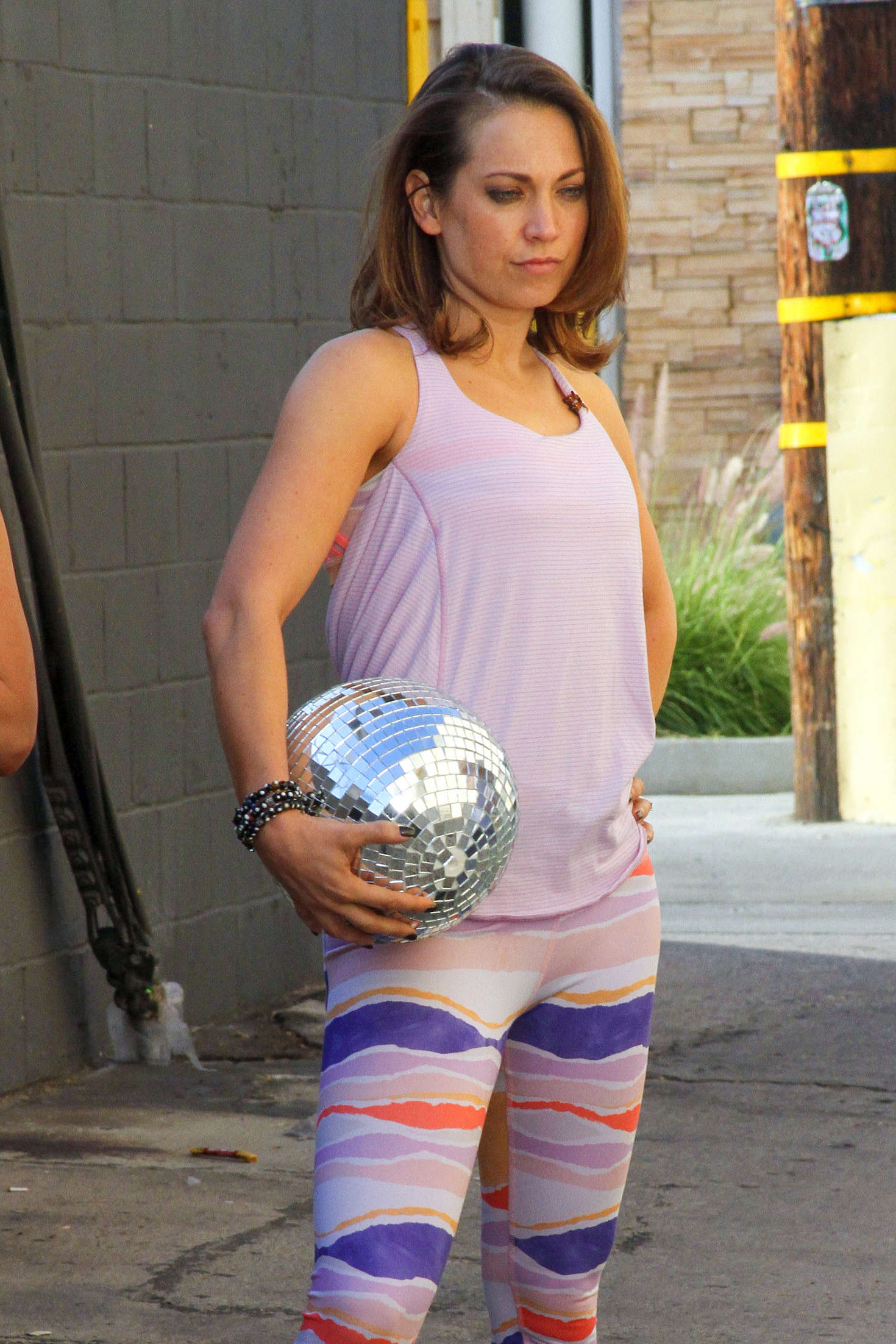 Ginger Zee in Tights a... Megan Fox And Friends