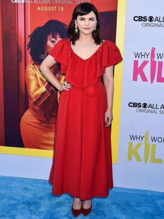 Ginnifer Goodwin - 'Why Women Kill' Premiere in Los Angeles