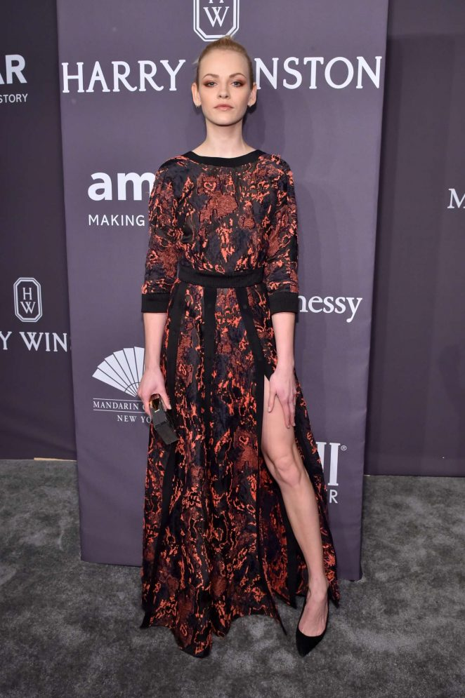 Ginta Lapina - 2017 amfAR New York Gala in New York City