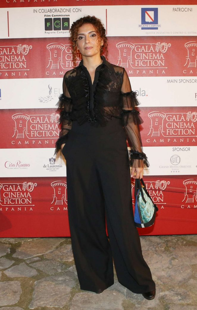Gioia Spaziani - 2018 Gala of Cinema and Fiction in Campania