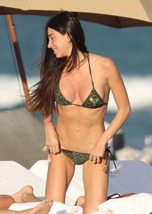 Giorgia Gabriele in Bikini on Miami Beach